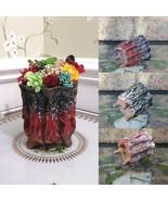 Handmade Ceramic Pot Vase with Preserved Natural Flower Arrangement Eter... - $29.95+