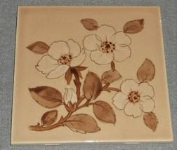 Franciscan CAFE ROYAL PATTERN Ceramic Tile MADE IN USA - $19.79