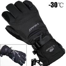 Men Ski Gloves Winter Waterproof Warm Snowboard Snow Thermal Women Windp... - $25.93