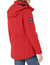 Tommy Hilfiger Rot Marine Damen 3 IN 1 Systems Jacke Mit Abnehmbare Kapuze Groß image 2