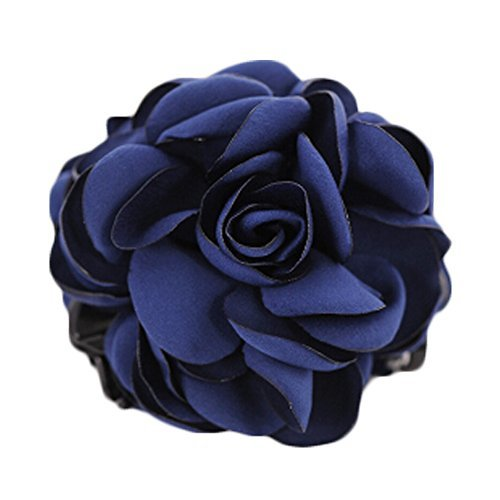 Primary image for Hair Clips Barettes Dark Blue Eye-catcher Elegant Korea Popular Classical Women