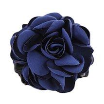 Hair Clips Barettes Dark Blue Eye-catcher Elegant Korea Popular Classica... - $13.40