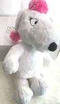 "Build a Bear Snoopy Girlfriend Fifi Plush Stuffed Animal Toy Peanuts 19""... - $18.49"