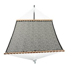 Patio Watcher 14 FT Quick Dry Hammock with Double Size Solid Wood Spread... - $73.21