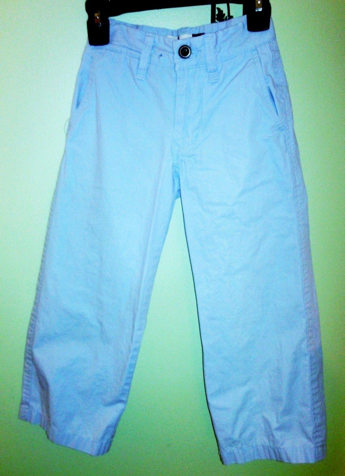 Boys/Toddler Set GAP Relaxed LT Blue Adj. Pants & Cat Jack L/S Button Shirt Blue