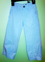 Boys/Toddler Set GAP Relaxed LT Blue Adj. Pants & Cat Jack L/S Button Shirt Blue image 3
