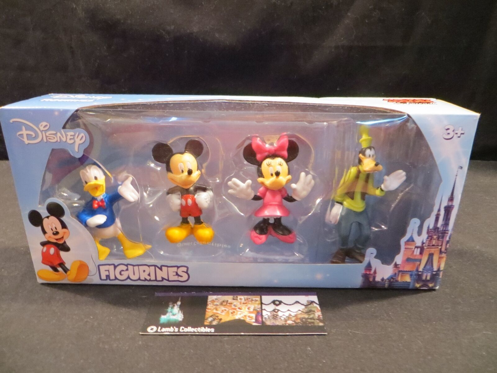 Primary image for Disney Mickey Mouse & Friends Figurines figures Beverly Hills Teddy Bear company