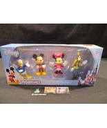 Disney Mickey Mouse & Friends Figurines figures Beverly Hills Teddy Bear... - $15.19
