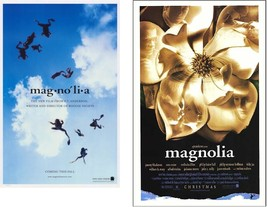 2 MAGNOLIA Movie POSTERS 11x17 Frogs & 13x20.5 Flower P.T. Anderson NEW - $14.99