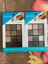 Broadway Color Eyeshadow Kit Palette 1 BSK01 Hera 1 BSK03 Aphrodite - $7.00