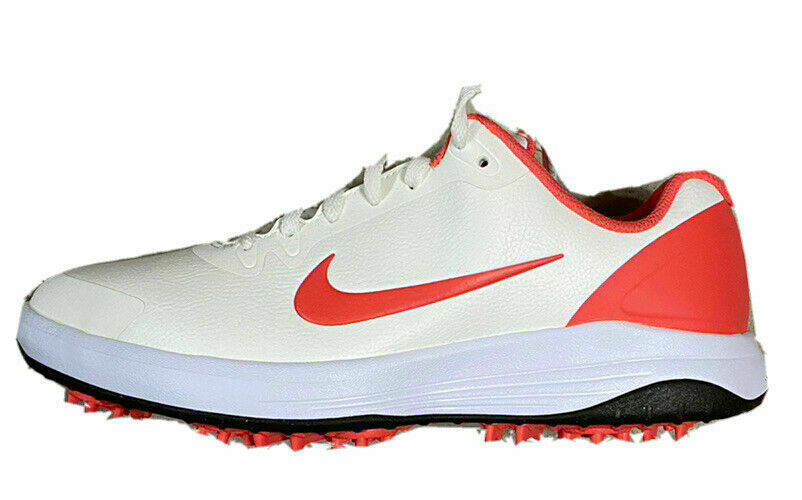 Primary image for New Nike Infinity G Spiked Golf Shoes Sail Magic Ember Men Size 7.5 CT0531-104