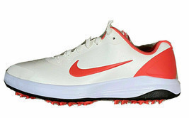 New Nike Infinity G Spiked Golf Shoes Sail Magic Ember Men Size 7.5 CT05... - $56.09