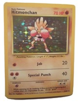 Pokemon Card - Hitmonchan - (7/102) Base Set Rare Holo ***NM*** - $5.49
