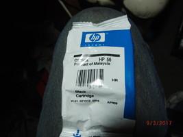 HP 56 Black Ink Cartridge C6656AN Genuine New - $11.88