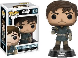 POP Star Wars: Rogue One - Captain Cassian Andor - $8.96