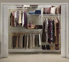 ClosetMaid 22875 ShelfTrack 5ft. to 8ft. Adjustable Closet Organizer Kit... - $172.34