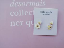 Kate Spade New York Precious Pansy Drop Earrings - $24.74