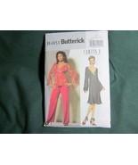 BUTTERICK MISSES DRESS PANT BLOUSE SEWING PATTERN  8 10 12 14 - $5.75