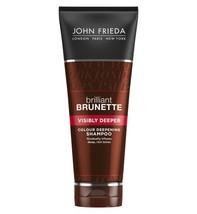John Frieda Brilliant Brunette visibly deeper shampoo 250ml - $22.11