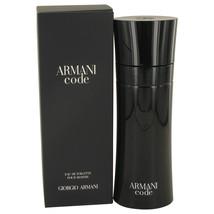 Giorgio Armani Armani Code 6.7 Oz Eau De Toilette Cologne Spray image 2