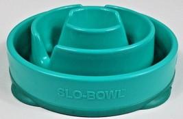 Slo-Bowl Dog Bowl Slow Slow Feed Interactive Bloat Stop Animal Kyjen Round - $24.99