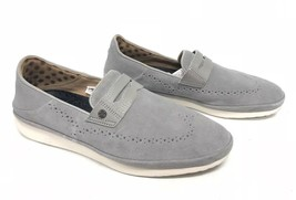 Ugg Australia Cali Penny Slip On Seal Grey 1092174 Men's Shoes Loafers Suede - $89.99