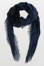 Diesel Unisex Swillot 00STCG Square Scarf Blue - $80.19