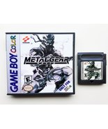 Metal Gear Solid Custom Case / Game - Gameboy Color (GBC) USA Seller - $14.99+