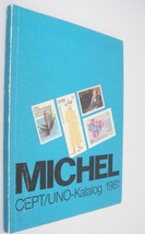 Michel CEPT/UNO-Katalog 1981 United Nations Postage Stamp Catalog in German - $14.84