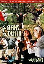 4 Clans of Death, Dragon from Shaolin, Death Fists of Shaolin DVD Kung Fu - $19.99