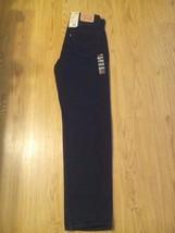 New Levi's 550 Men's Jeans Pants SZ 33X36100% Cotton Black - $38.00