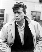 Alain Delon Hunky Iconic Pose 1960'S 16X20 Canvas Giclee - $69.99