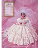 Miss June 1999 Bridal Dreams Outfit fits Barbie Doll Annie's Pattern Boo... - $7.62