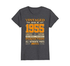 Funny Shirts - Legends Vintage Made In 1955 63rd Birthday Gift 63 years ... - $19.95+