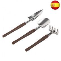 Set de 3 piezas Mini herramientas para macetas de jardinería, pala peque... - £11.55 GBP