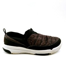 Ryka Womens Adel Water Repellant Slip On Sneaker Snake Faux Fur Lining Black 9.5 - $34.64