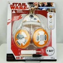 NEW Star Wars BB8 Pumpkin Decorating Kit Halloween Jack O Lantern Disney... - $16.79