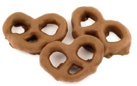 Milk Chocolate Covered Pretzels -15Lbs - $139.79