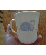 6 Corning Corelle Country Pride Blue Cats Coffee Tea Cups Mugs - €33,70 EUR