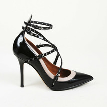 Valentino Patent Leather Grommet Pumps SZ 38 - $505.00