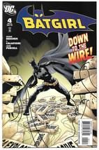 Batgirl #4 NM DC Comics 2008 Adam Beechan J. Calafiore Batman - $3.75