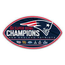 """New England Patriots Super Bowl LIII CHAMPIONS Vertical Banner 28"""" by 40"""" - $32.99"""