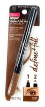 Maybelline Brow Define Fill Duo 265 Auburn Pencil New Make Up Eye Studio - $9.21