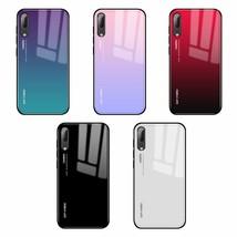 Gradient Glossy Cover Case Skin For Huawei P20 pro mate 10 20 lite nova ... - $6.95
