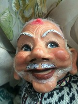 Vintage Clown/JESTER Doll-Rare-Porcelain head/hands,lashes -cloth body U... - $59.40