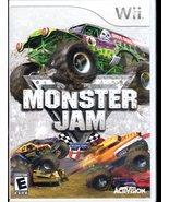 Monster Jam ( Wii Game) - $6.75