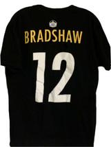 Terry Bradshaw T-Shirt Sz Large Steelers #12 Hall Of Fame NFL Football B... - $14.13