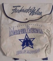 Vintage Seattle Mariners Pitchfork Logo - Frederick & Nelson Backpack - ... - ₹1,056.90 INR