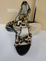 Michael Michael Kors Women's Evie Platform Sandals Shoes 9 M - $70.13