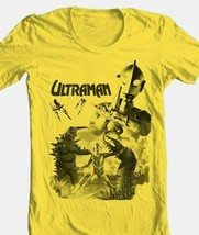 Ultraman T-shirt 80's Saturday morning cartoon anime superhero gold cotton tee image 2